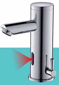 Le mitigeur électronique permet de réaliser énormément d'économie d'eau
