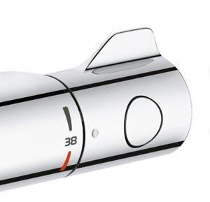 Guide d 39 achat mitigeur thermostatique grohtherm 800 pour - Reglage temperature mitigeur thermostatique douche ...