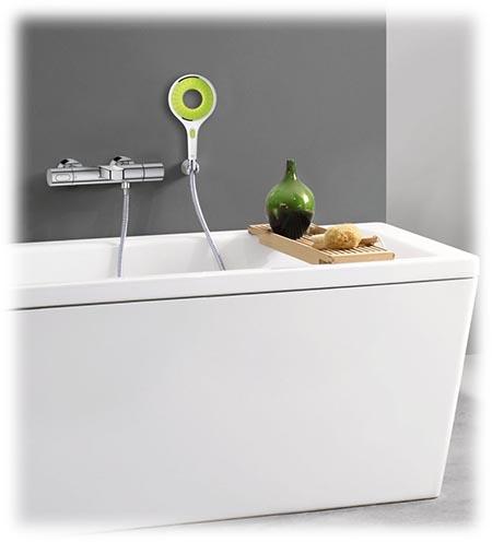 Mitigeur thermostatique Grohtherm 3000 pour baignoire et douche - Exemple d'installation avec une baignoire