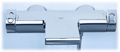 guide complet du mitigeur thermostatique grohtherm 2000 pour baignoire. Black Bedroom Furniture Sets. Home Design Ideas